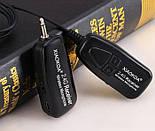 Беспроводной петличный микрофон ALLOYSEED / петличка для камеры и смартфона, фото 3
