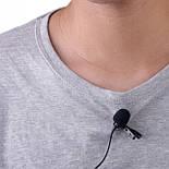 Беспроводной петличный микрофон ALLOYSEED / петличка для камеры и смартфона, фото 4