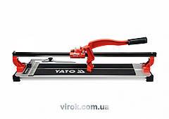 Плиткоріз ручний YATO з ковзаючим повзунком і 1-ю направляючою, l= 60 cм [2] YT-3707