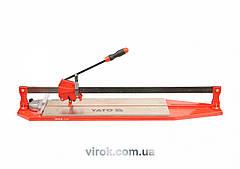 Плиткоріз ручний YATO з ковзаючим повзунком і 1-ю направляючою, l= 90 cм YT-3705