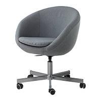 SKRUVSTA Рабочий стул, Висле серый