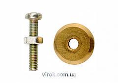 Ролик для плиткорізу YATO YT-3703, 12,6х3х3 мм [50/200]
