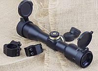 Оптический прицел Discovery VT-Z 4x32, постоянная кратность, кольца в комплекте, откидные крышки, сетка mildot, фото 1