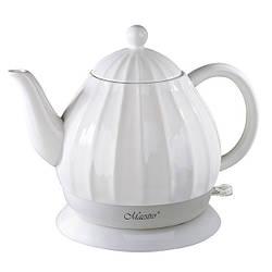 Чайник Maestro  белый 1,2л керамика (070 MR)