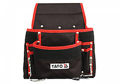 Сумка YATO поясна для інструментів з 8 кишенями