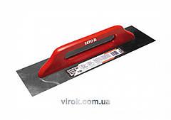 Терка - гладилка YATO нержавіюча гладка 380x130 мм [40]