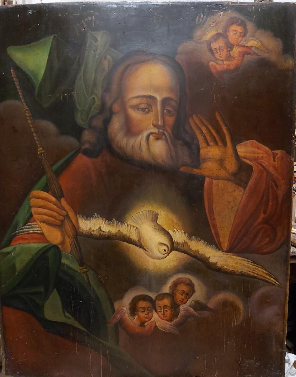 Ікона Бог Саваот 19 століття