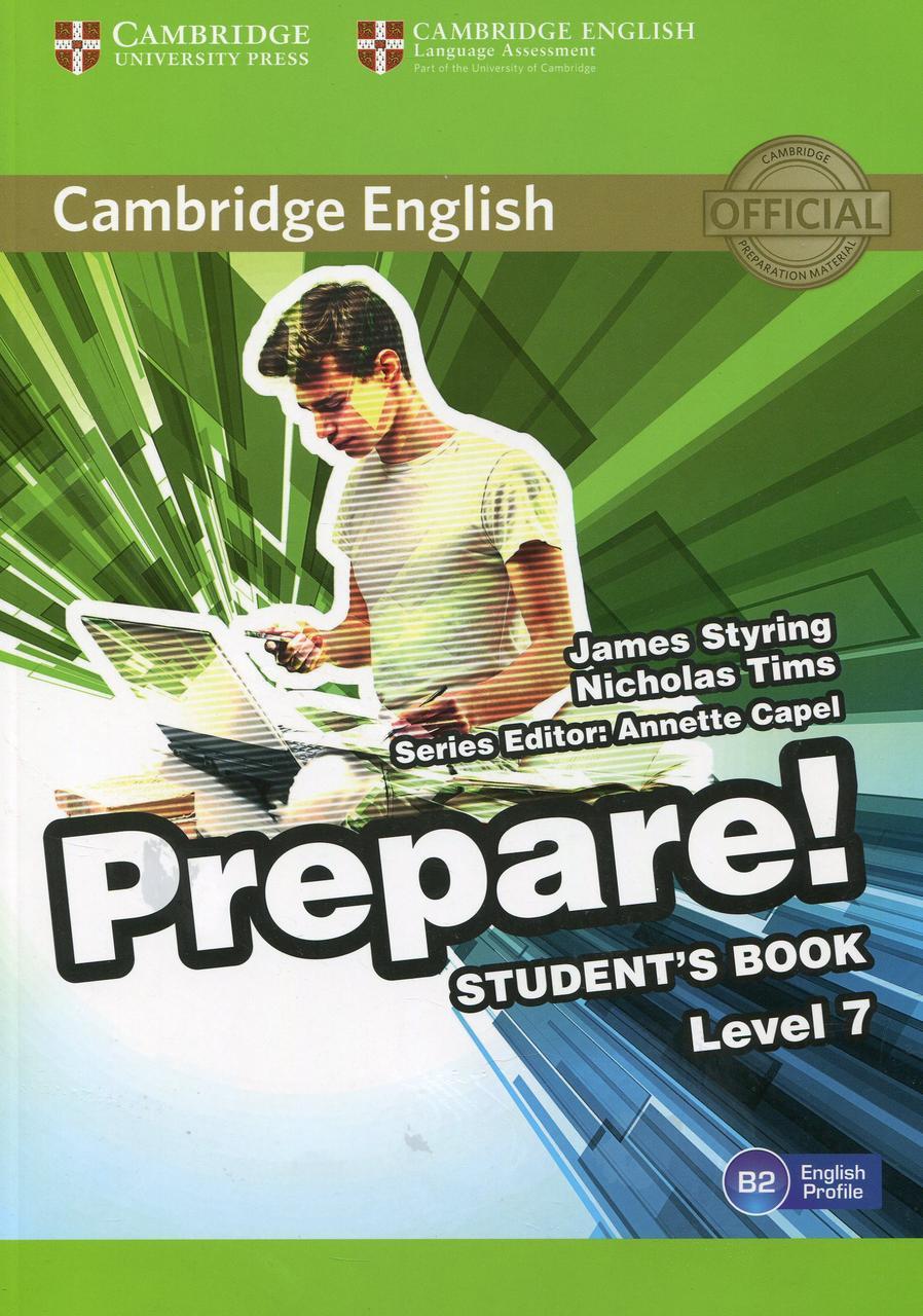 Cambridge English Prepare! Level 7. Student's Book
