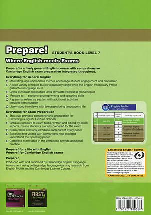 Cambridge English Prepare! Level 7. Student's Book, фото 2