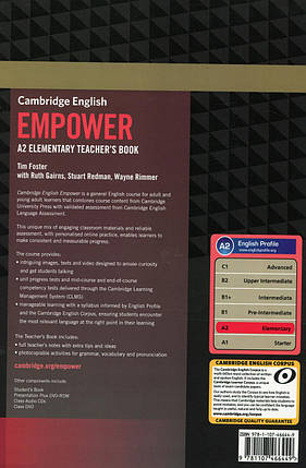 Cambridge English Empower A2. Elementary Teacher's Book, фото 2