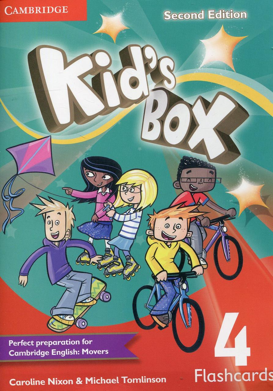 Kid's Box 4 Flashcards. Second Edition (Pack of 103 cards)