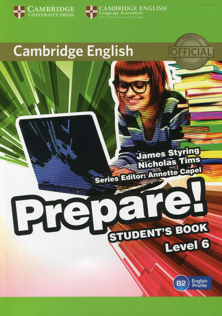 Cambridge English Prepare! Level 6. Student's Book