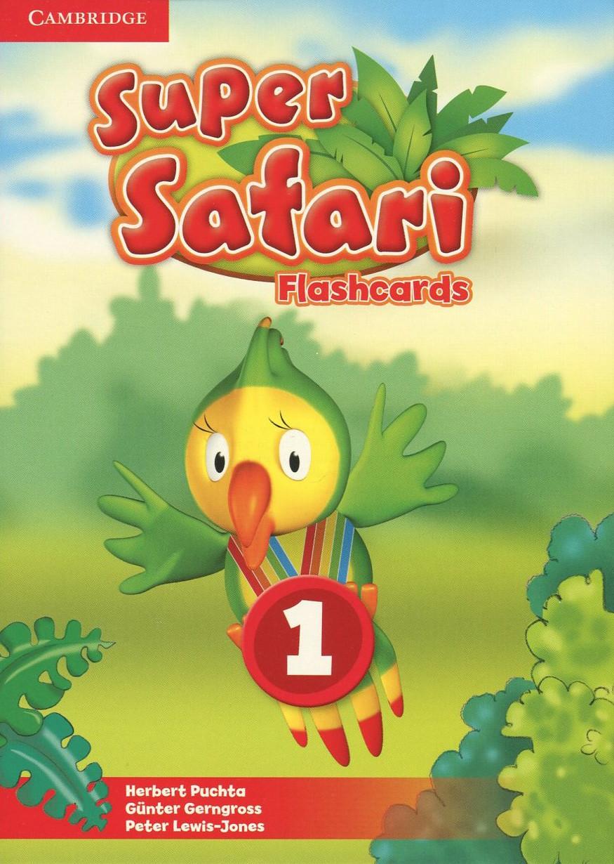 Super Safari 1 Flashcards (Pack of 40)
