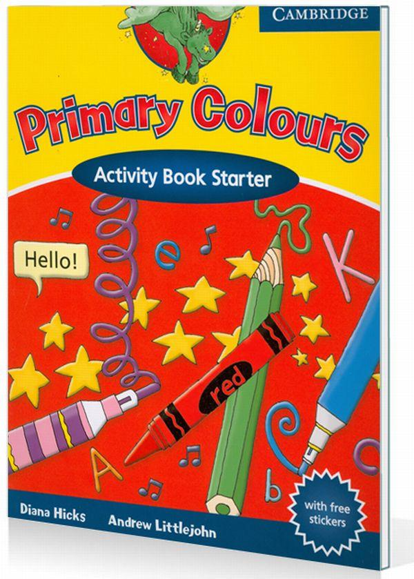 Primary Colours Activity Book Starter