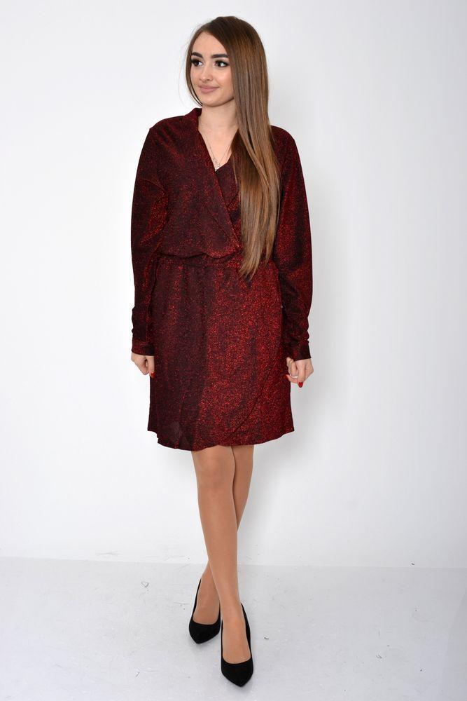 Платье женское 115R362 цвет Красный