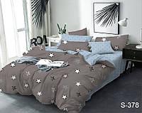 Полуторный комплект постельного белья с компаньоном на молнии из сатина S378