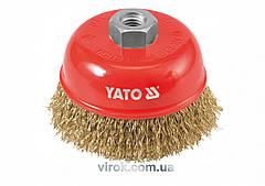 Щетка-крацовка чашеобразная YATO Ø=100 мм YT-4766