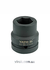 """Головка торцевая ударная шестигранная YATO 1"""" M28 х 59 мм"""