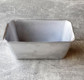 Форма для выпечки Полімет  хлеба 16,7х8,6 см h7,6 см литой алюминий (3052 міні кірпіч П)