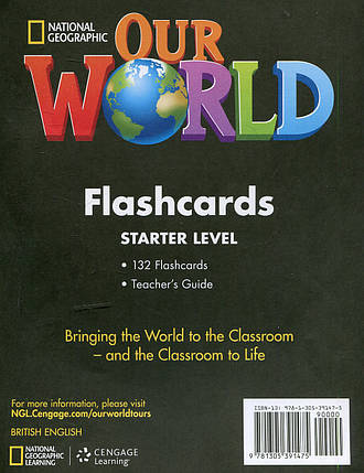 Our World Starter Flashcards, фото 2