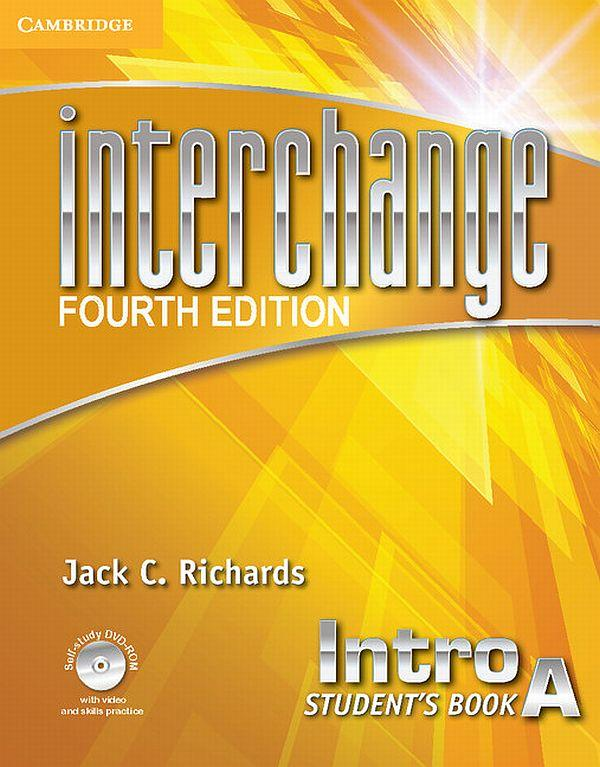 Interchange Intro Student's Book A with Self-study