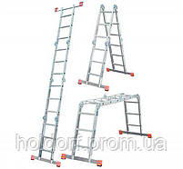Лестница-трансформер Krause Corda MultiMatic 4x3, Шарнирная, фото 2