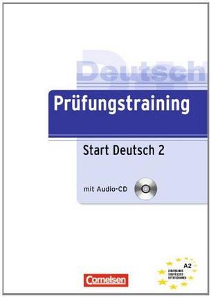 Prufungstraining Daf: Start Deutsch 2 - Ubungsbuch MIT CD, фото 2