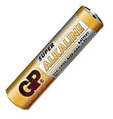 Батарейка ААА (минипальчиковая) GP 1шт 24A-2UE4 щелочная LR03, AAA