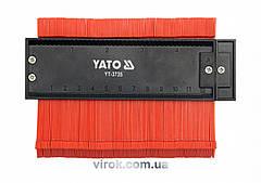 Шаблон профілів YATO l=125 мм
