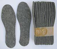 Стельки для обуви фетровые