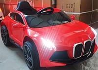 """Детский электромобиль Tilly """"BMW"""" музыкальный T-7649 EVA RED с пультом управления"""
