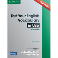 Книга Test Your English Vocabulary in Use Advanced with Answers