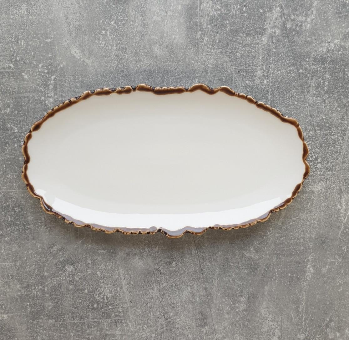 Тарелка ALT Porcelain Oasis овальная 30,5х16 см (FC0048-12)