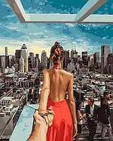 """Картина по номерам BrushMe Премиум """"Следуй за мной Манхеттен"""" 40х50 см без упаковки PGX21784"""