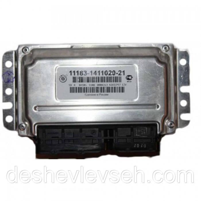 Контроллер  ВАЗ- 11183 ЯНВАРЬ 7.2 (Евро-2) (633.3763-03), 11183-1411020-21 (Калуга)