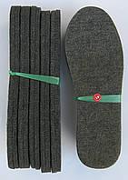 Стельки для обуви войлочные