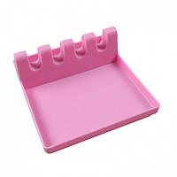 Кухонная пластикова подставка для ложек Pink - 218580