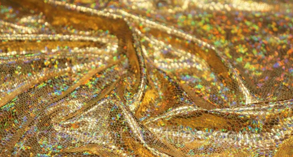 Біфлекс з Напиленням Глограм Луска (Золота)