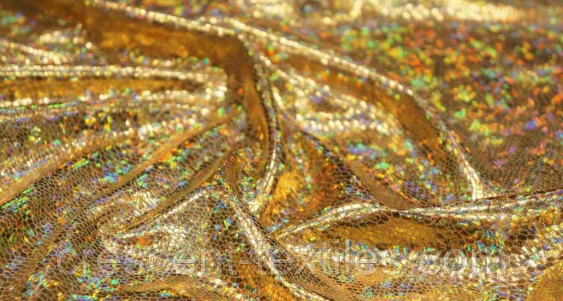 Біфлекс з Напиленням Глограм Луска (Золота), фото 2
