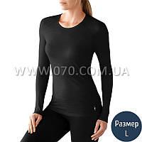 Термокофта женская Smartwool NTS (150 г/м2, L), черная