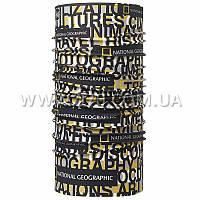 Многофункциональная повязка / головной BUFF National Geographic HIGH UV (лето), words multi 111526.5