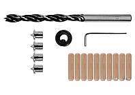 Засоби для кілкових сполучень YATO з діаметром 8 мм, набір, 17 шт.