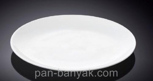 Тарелка десертная Wilmax  круглая без борта d20 см фарфор (991013 WL)