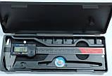 Штангенциркуль электронный I.D.F. 150П (0-150 мм; ±0.02) Италия, фото 2