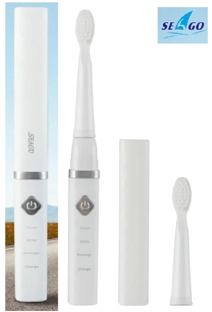 SEAGO SG515 - Электрическая звуковая зубная щетка (white) - ОРИГИНАЛ !