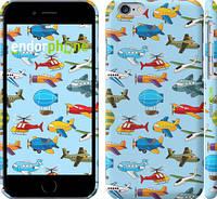 "Чехол на iPhone 6 Воздушная техника ""1003c-45"""