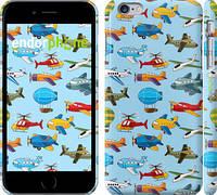 """Чехол на iPhone 6 Plus Воздушная техника """"1003c-48"""""""