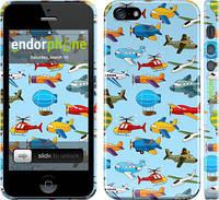 """Чехол на iPhone 5s Воздушная техника """"1003c-21"""""""