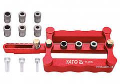 Пристрій для кілкових сполучень YATO з діаметрами 6, 8, 10 мм, ширина 17- 50 мм