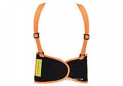 Пояс для підтримки спини YATO еластичний оранжевий, 125х 20 см, розмір XL YT-74241
